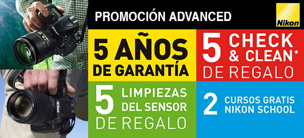 promocion nikon advanced