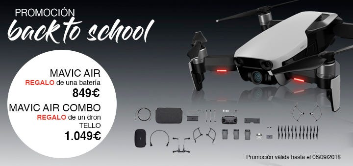 DJI Back To School