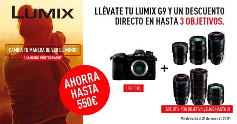 Cashback Lumix G9
