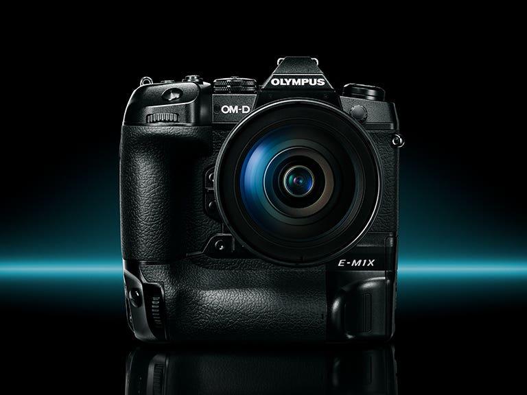 Resultado de imagem para Câmera Olympus OM-D E-M1X Mirrorless anunciada