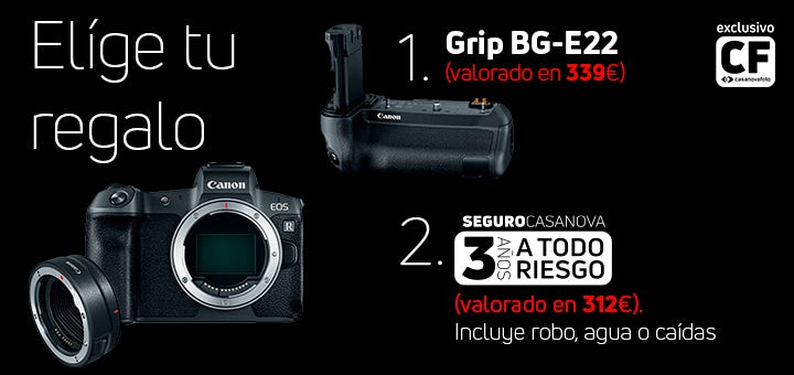 Promociones Canon EOS R
