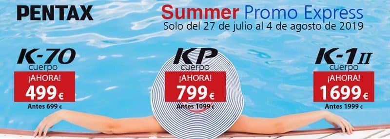 promo summer pentax