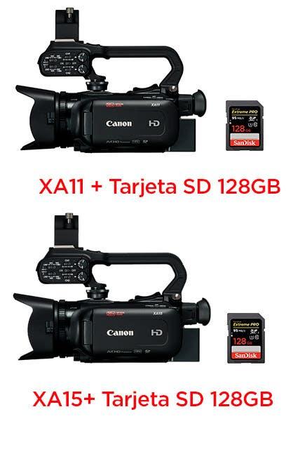 Canon XA11 XA15 SD128