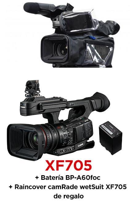 Canon XF705 raincover
