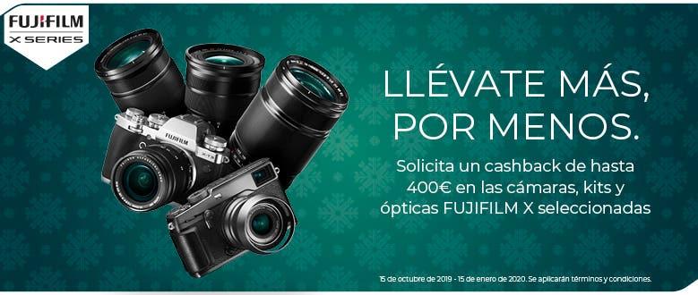 Promoción Fujifilm Serie X