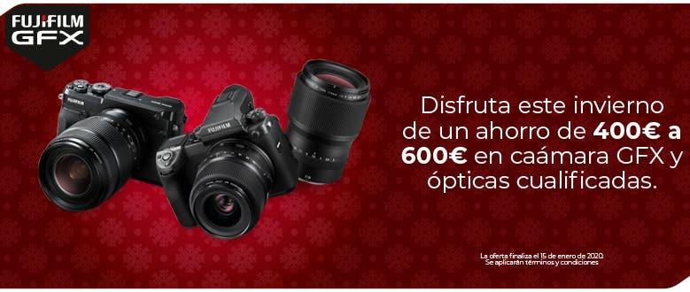 Promoción Fujifilm GFX