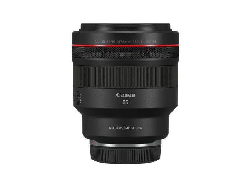 Canon RF 85 mm f1,2L USM DS