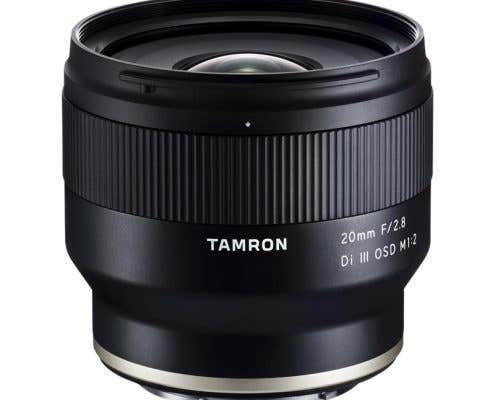 Tamron 20mm f2.8 III OSD