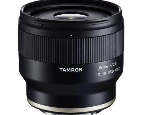 Tamron 35mm f2.8 III OSD