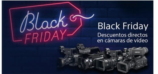 Black Friday Sony vídeo