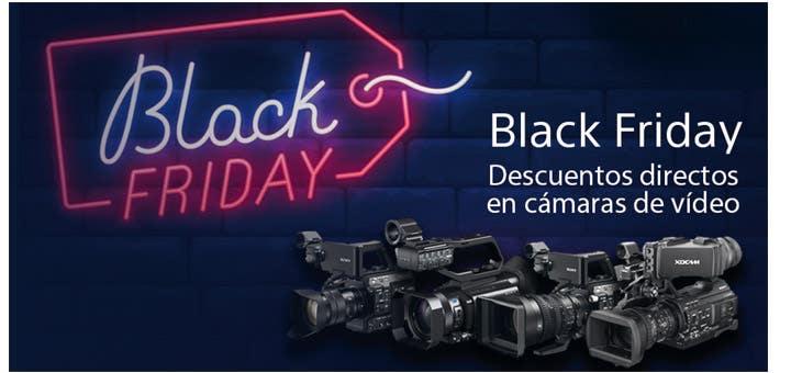 Black Friday Sony vídeo