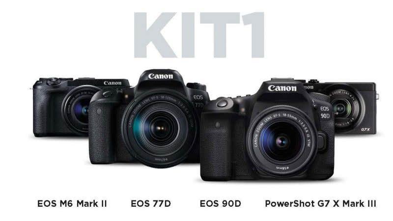 Canon kit V-Blogging
