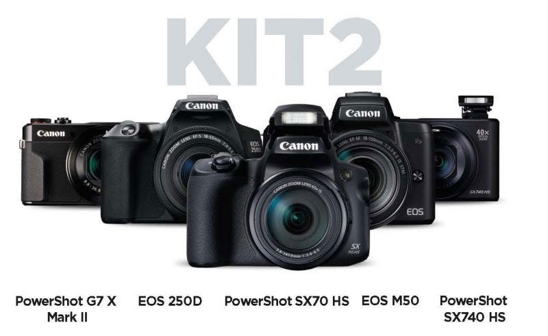 Canon kit V-Blogging