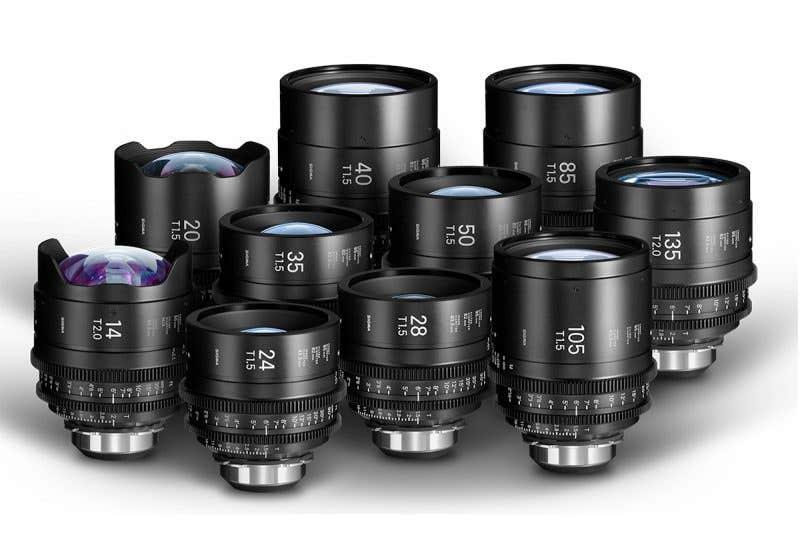 Sigma Cine Lenses Prme
