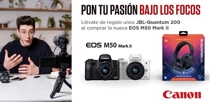Promoción Canon EOS M50 Mark II