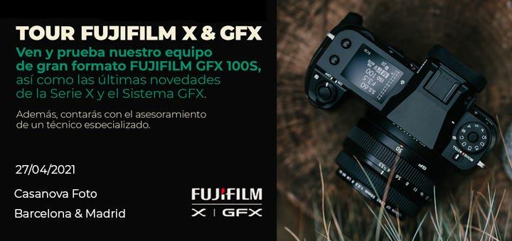 Tour Fujifilm X & GFX