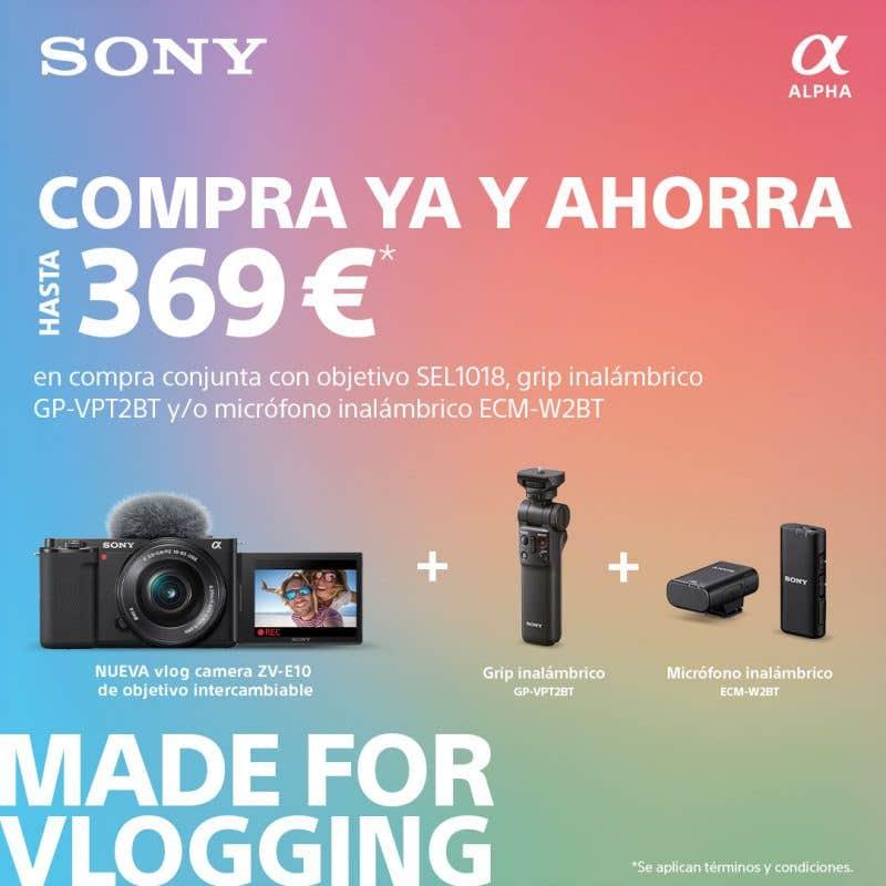 Promoción Sony ZV-E10
